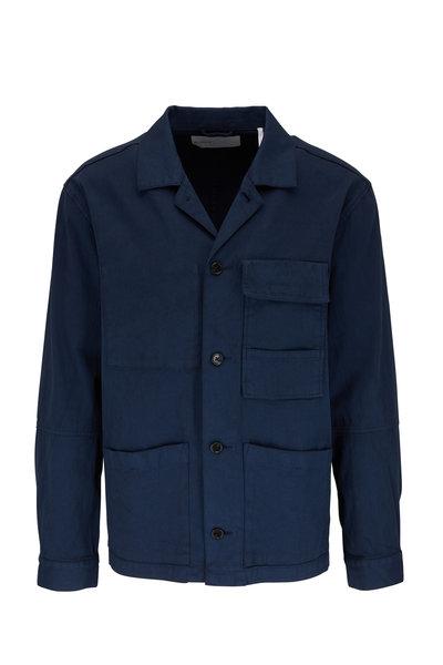 BLDWN - Isaac Midnight Stretch Cotton Work Jacket