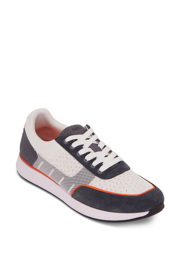Swims Breeze Wave Athletic White & Gray Sneaker