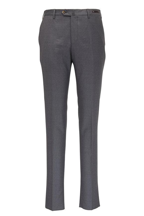 PT Torino Basic Dark Gray Wool Pant