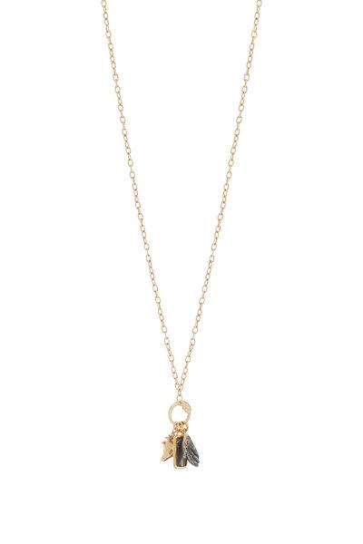 Haute Victoire - Caprice Gold Charm Necklace