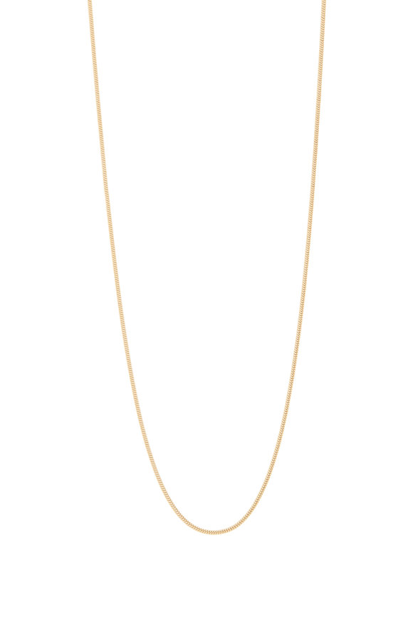 Fernando Jorge 18K Yellow Gold Thick Snake Chain Necklace