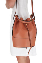 Loewe - Small Balloon Tan Smooth Leather Bag
