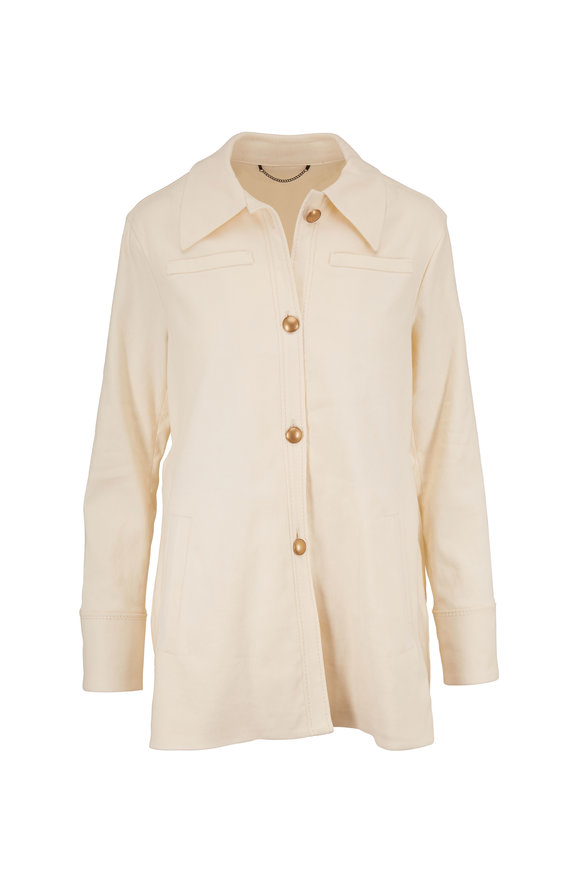 Dorothee Schumacher Urban Spirit Off White Linen & Cotton Jacket