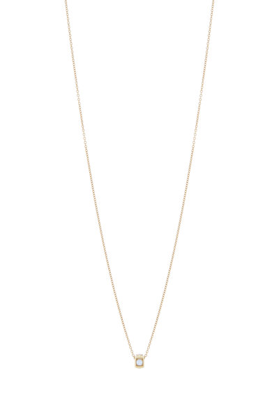 James Banks - 18K Yellow Gold Code Pendant Necklace