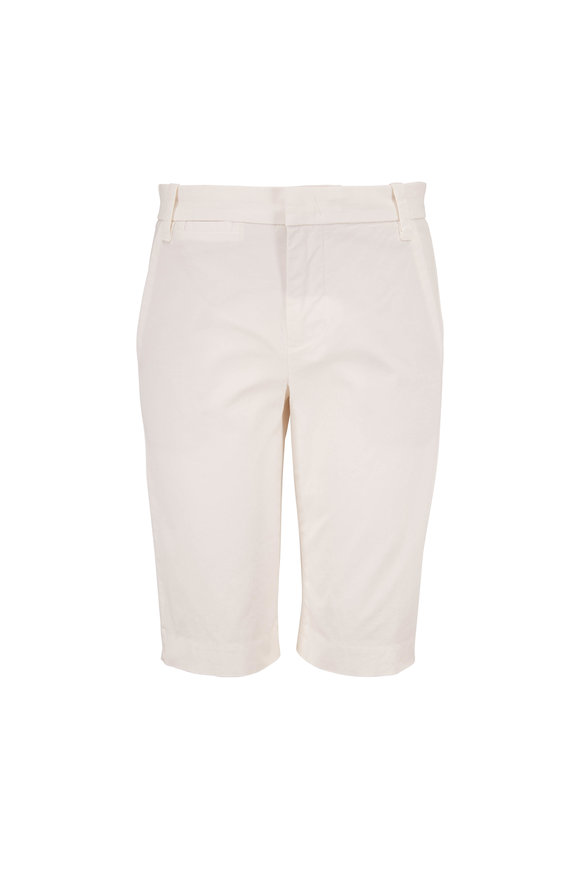 Vince Optic White Coin Pocket Bermuda Shorts