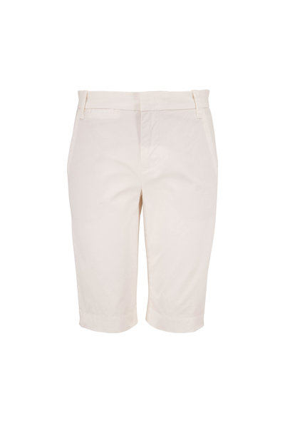Vince - Optic White Coin Pocket Bermuda Shorts