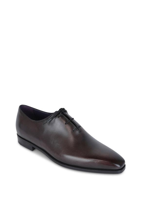 Berluti Alessandro Dark Brown Leather Oxford