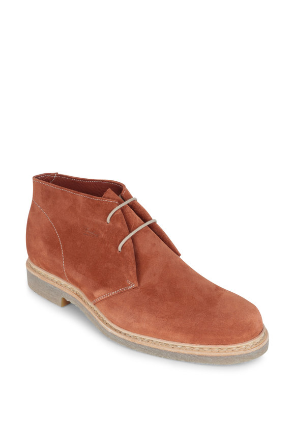Paraboot Riad Rust Suede Chukka Boot