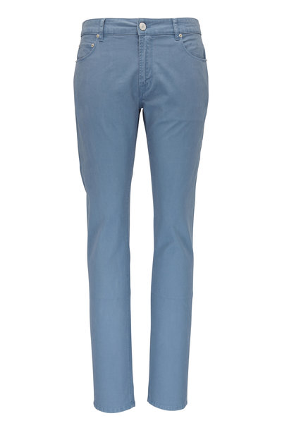 PT Torino - Jazz Light Blue Double Dyed Five Pocket Pant