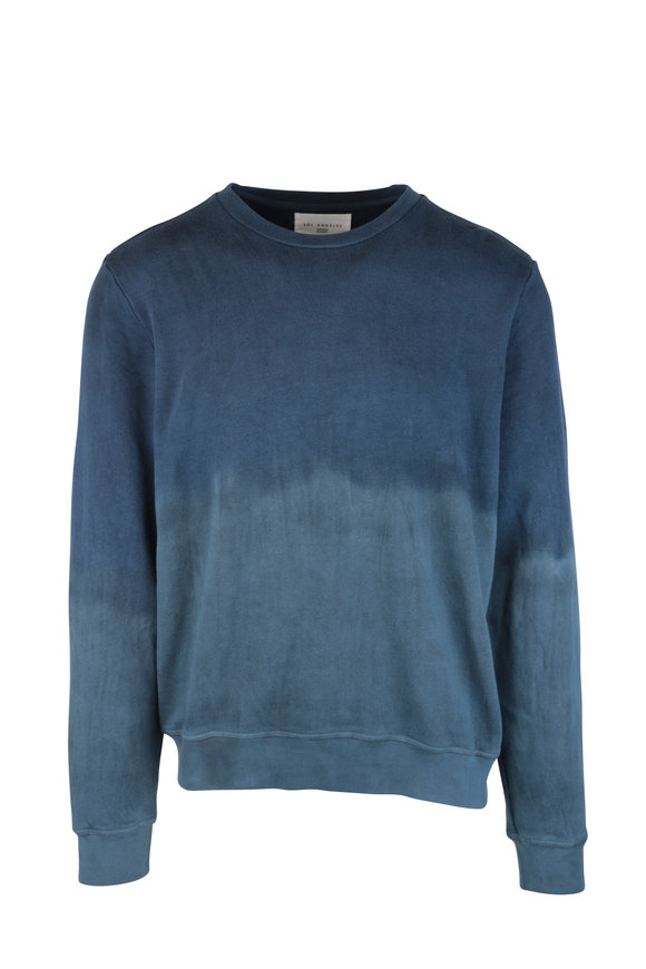 Sol Angeles Jasper Blue Dip Dye Sweater