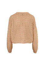 Vince - Vanilla Open Cable Knit Cardigan