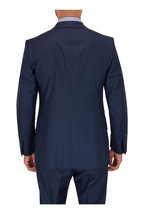 Tom Ford - Navy Sharkskin Wool Suit