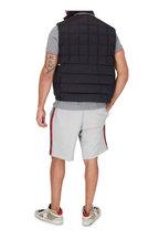 Moncler - Black Hooded Quilted Down Vest