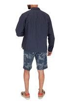 Officine Generale - Martin Navy Blue Sport Shirt