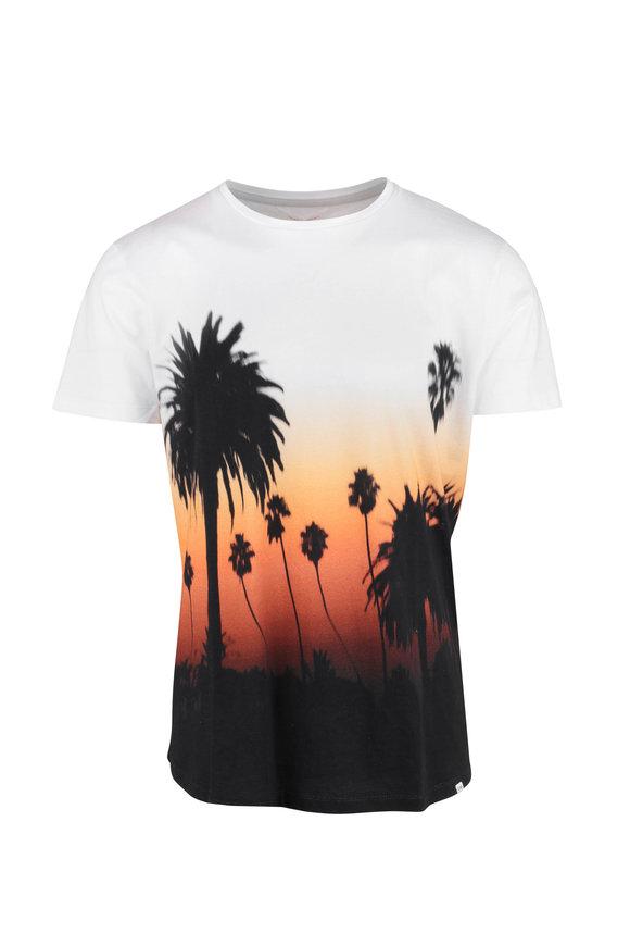Orlebar Brown OB-T Photo Sunset White T-Shirt