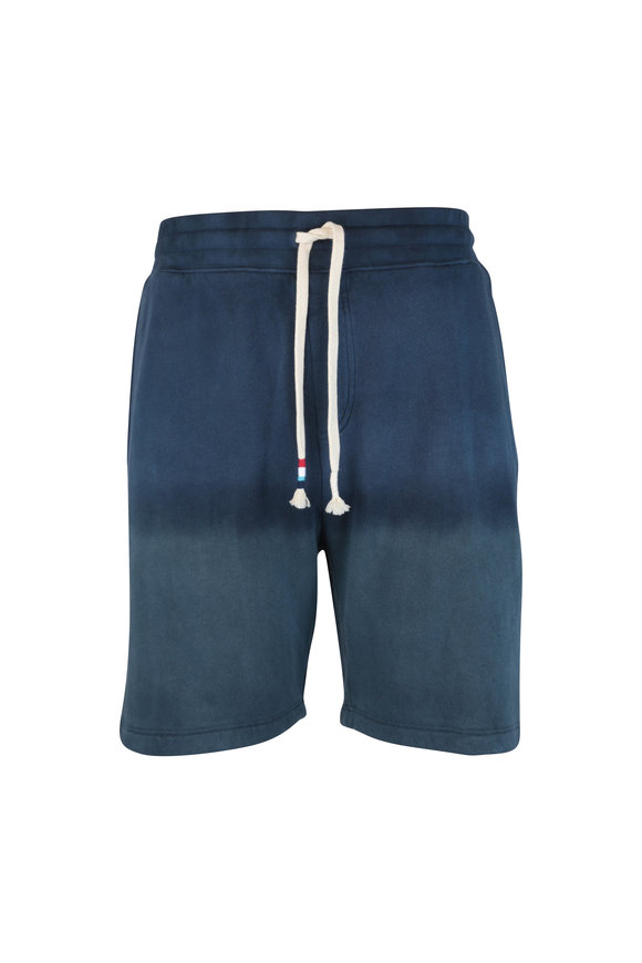 Sol Angeles Jasper & Navy Blue Dip Dye Shorts