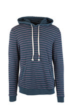 Sol Angeles - Monterey Jasper & Coral Striped Hoodie