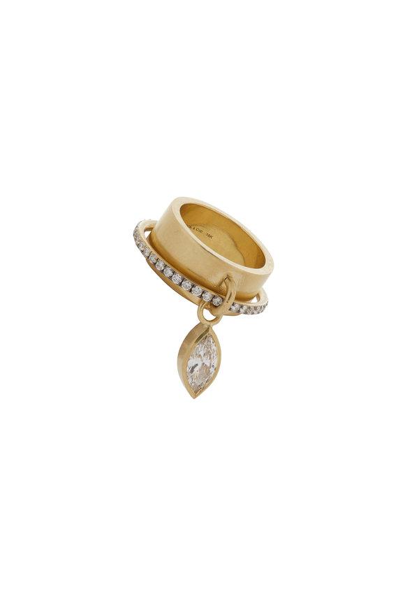 Sylva & Cie Satellite Diamond Ring