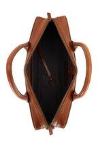Shinola - Bedrock Medium Brown Navigator Leather Briefcase