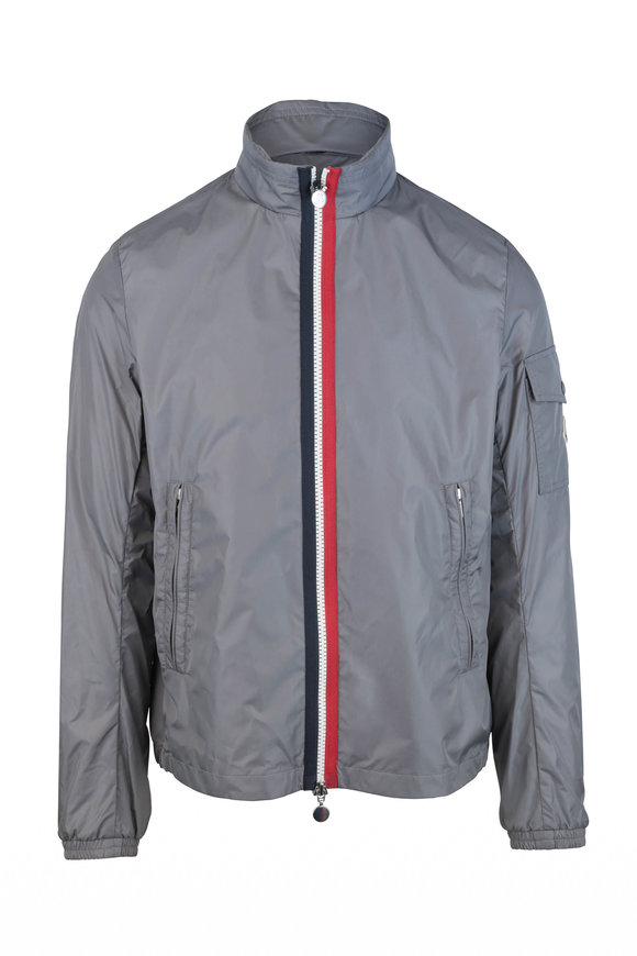 Moncler Keralle Gray Nylon Jacket