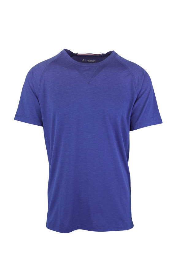 Fourlaps Level Royal Blue Technical T-Shirt