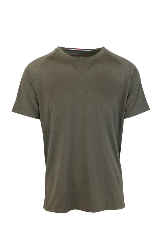 Fourlaps Level Army Green Technical T-Shirt