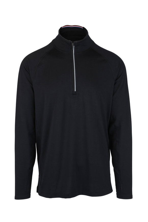 Fourlaps Level Black Half-Zip Pullover