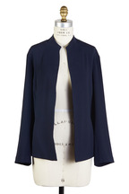 Peter Cohen - Navy Blue Silk Jacket
