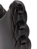 Chloé - Darryl Black Grained Leather Small Hobo Bag