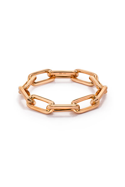 Walters Faith - 18K Rose Gold Saxon Chain Link Ring