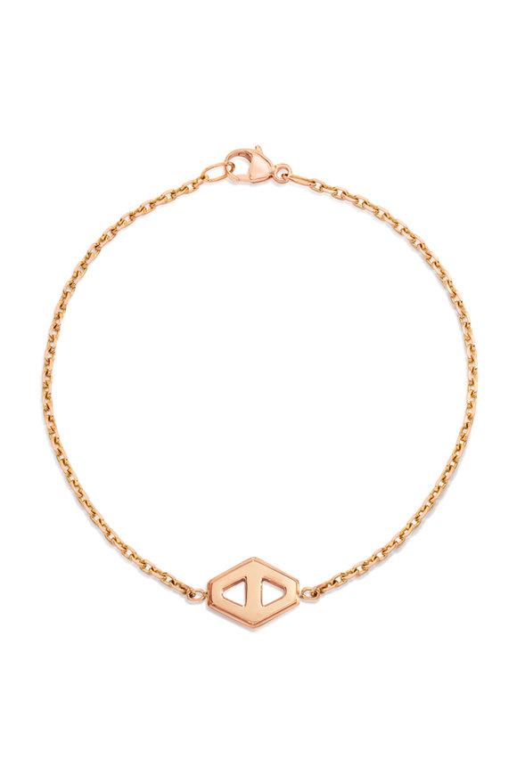 Walters Faith 18K Rose Gold Keynes Hexagon Bracelet