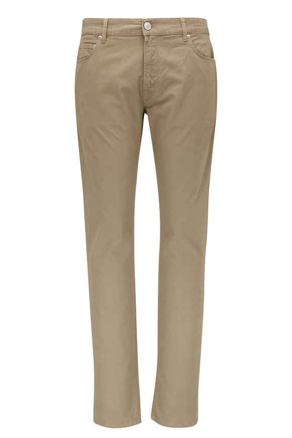 PT Torino Jazz Tan Double Dyed Five Pocket Pant