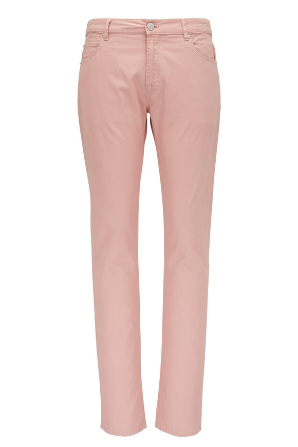 PT Torino Jazz Pink Double Dyed Five Pocket Pant