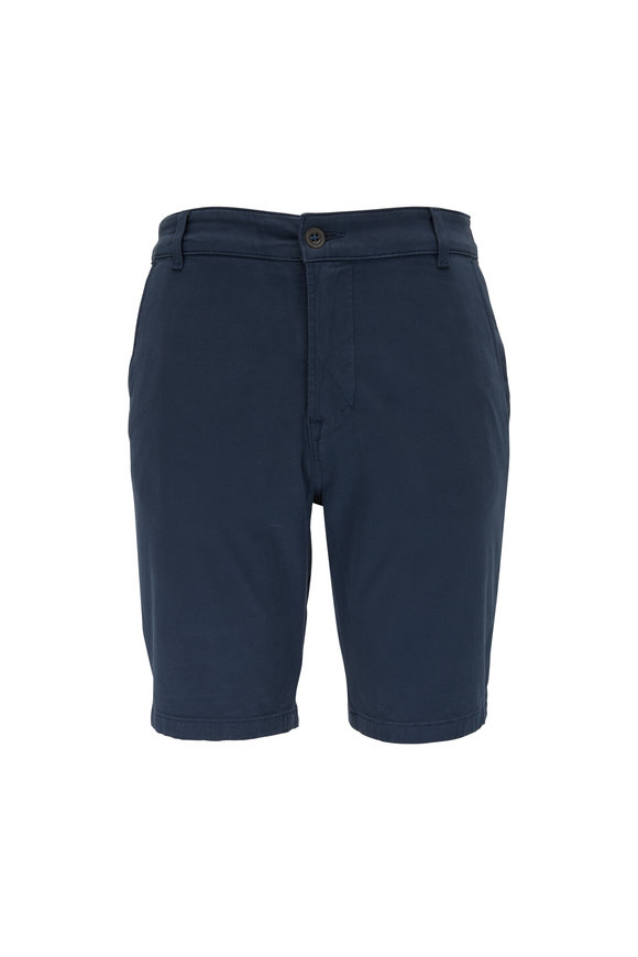 Hudson Clothing Navy Chino Shorts