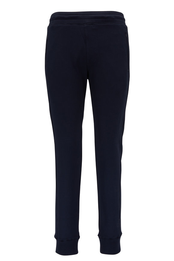 Swet Tailor Navy Zip Pocket Sweatpant