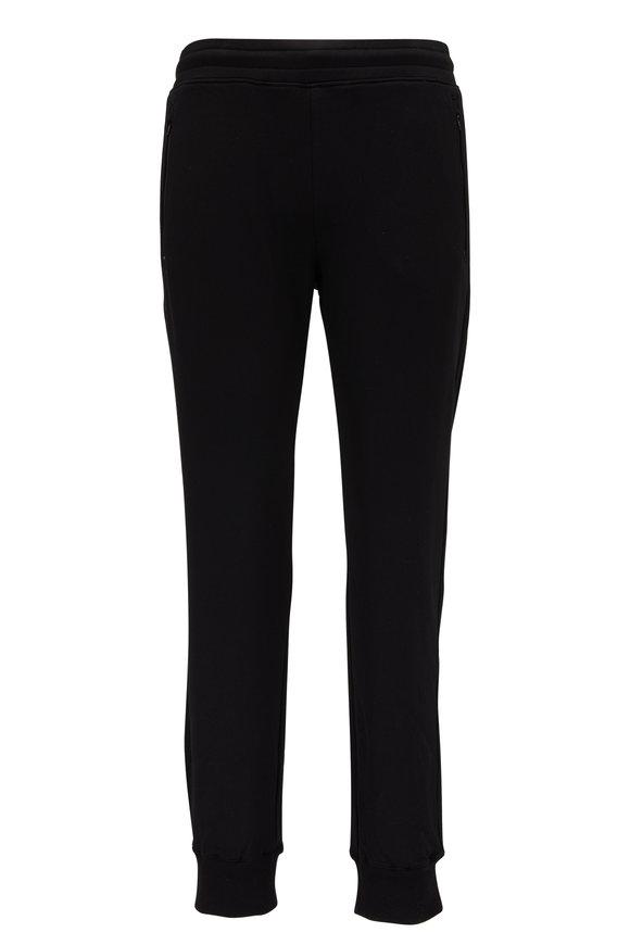 Swet Tailor Black Zip Pocket Sweatpant