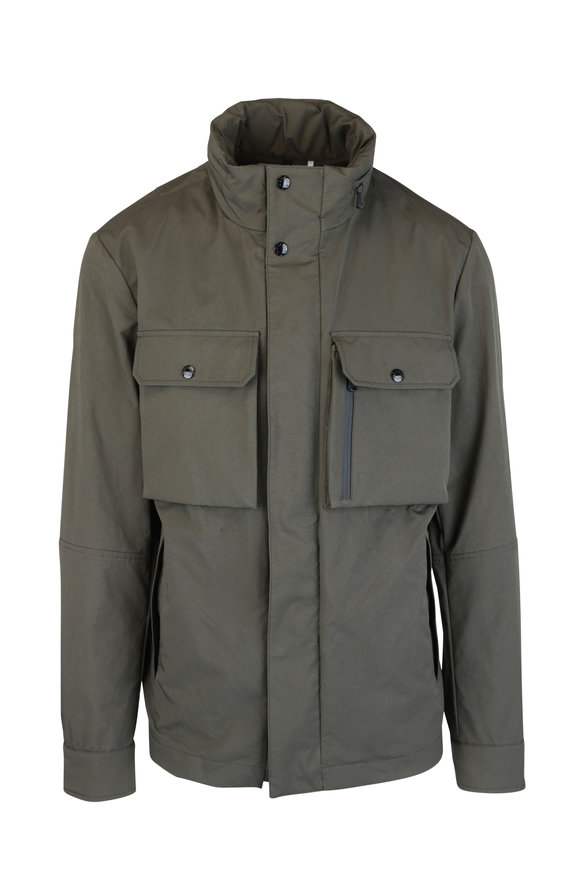 Moncler Olive Green Field Jacket