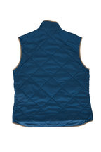 Waterville - Bright Navy Blue Quilted Vest