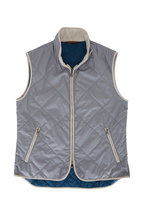 Waterville - Light Gray Quilted Vest