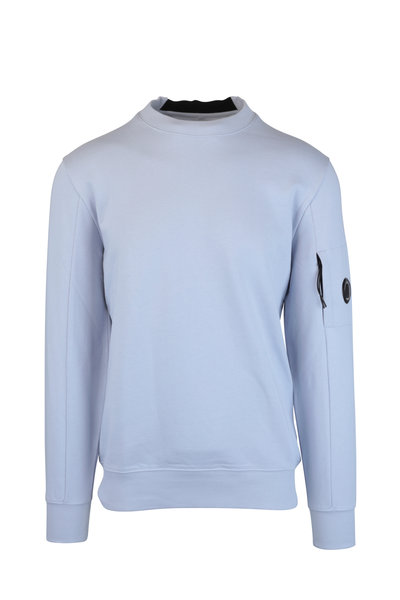 CP Company - Halogen Blue Crew Neck Sweater