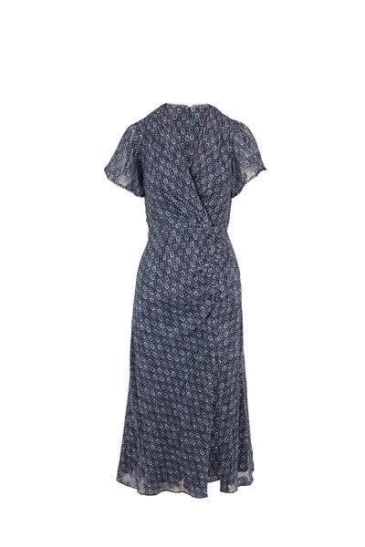 Jonathan Simkhai - Lily Midnight Medallion Jacquard Dress