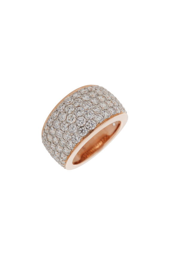 Walters Faith 18K Rose Gold Lytton Pavé Ring
