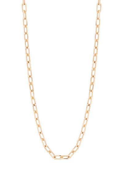 Walters Faith - 18K Rose Gold Saxon Double Wrap Link Bracelet