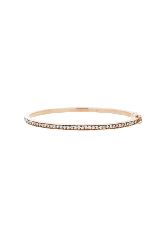 Walters Faith 18K Rose Gold Grant Diamond Row Bracelet