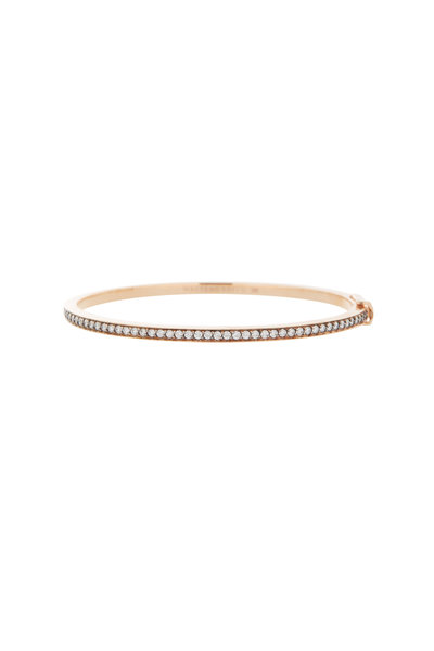 Walters Faith - 18K Rose Gold Grant Diamond Row Bracelet