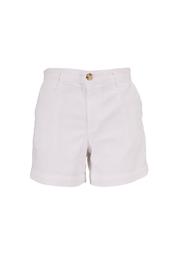 AG - Adriano Goldschmied The Caden White Tailored Shorts