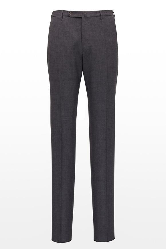Incotex Matty Medium Grey Techno Wool Pant