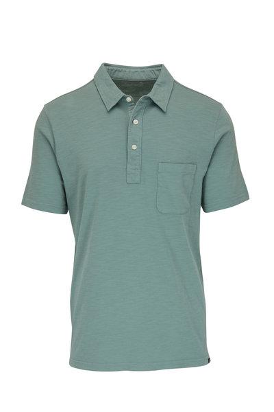 Faherty Brand - Jade Sunwashed Pocket Polo