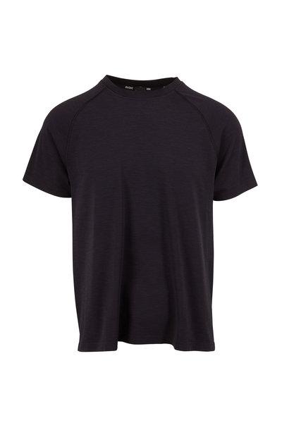 Rhone Apparel - Black Reign Tech Short Sleeve Performance Shirt
