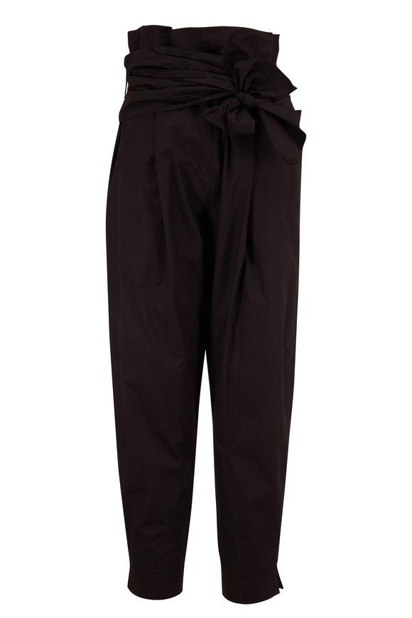 Dorothee Schumacher Black Papertouch Ease Trouser